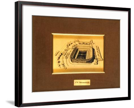 San Siro Stadium, Milan--Framed Art Print