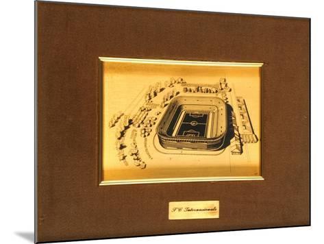 San Siro Stadium, Milan--Mounted Giclee Print