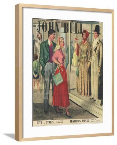 Front Cover of 'John Bull', March 1949--Framed Art Print