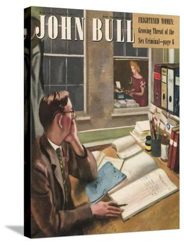Front Cover of 'John Bull', October 1947--Stretched Canvas Print