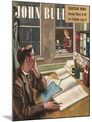 Front Cover of 'John Bull', October 1947--Mounted Giclee Print