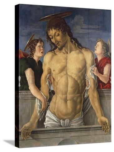 Deposition of Christ Supported by Angels, 1471, Marco Zoppo--Stretched Canvas Print