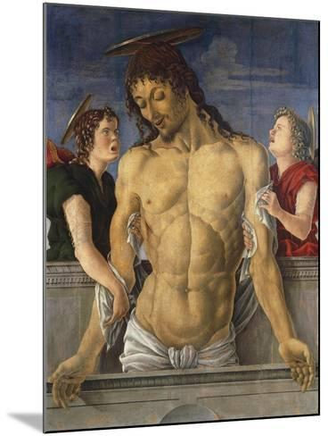 Deposition of Christ Supported by Angels, 1471, Marco Zoppo--Mounted Giclee Print
