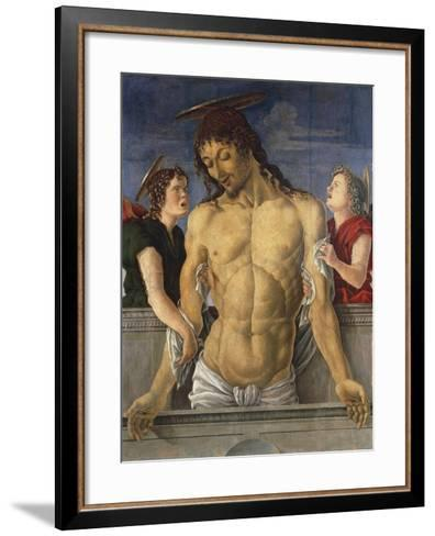 Deposition of Christ Supported by Angels, 1471, Marco Zoppo--Framed Art Print