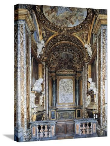 St. Joseph's Chapel, Church of St. Mary in Campitelli, Rome, Italy--Stretched Canvas Print