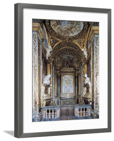 St. Joseph's Chapel, Church of St. Mary in Campitelli, Rome, Italy--Framed Art Print