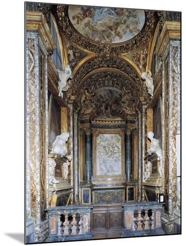 St. Joseph's Chapel, Church of St. Mary in Campitelli, Rome, Italy--Mounted Giclee Print