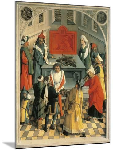 The Sacrifice of Jews--Mounted Giclee Print