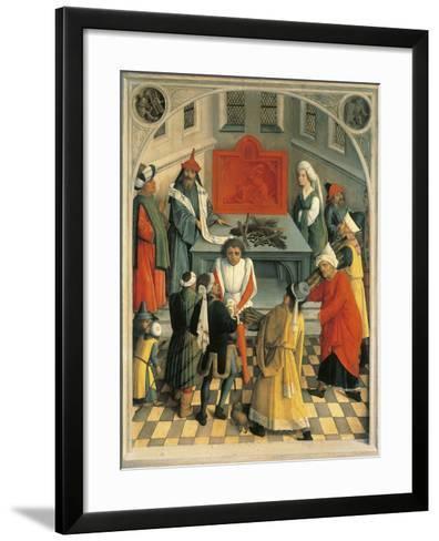 The Sacrifice of Jews--Framed Art Print
