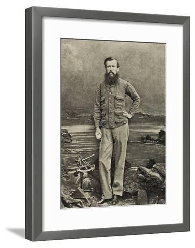 John Hanning Speke--Framed Art Print