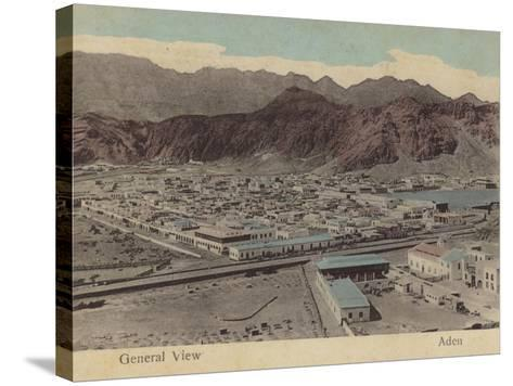 General View of Aden--Stretched Canvas Print