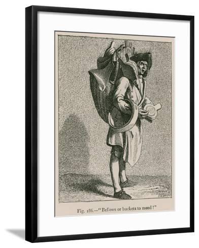 """""""Bellows or Buckets to Mond!""""--Framed Art Print"""