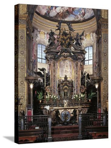 High Altar from Sanctuary of Incoronata, Lodi, Italy--Stretched Canvas Print