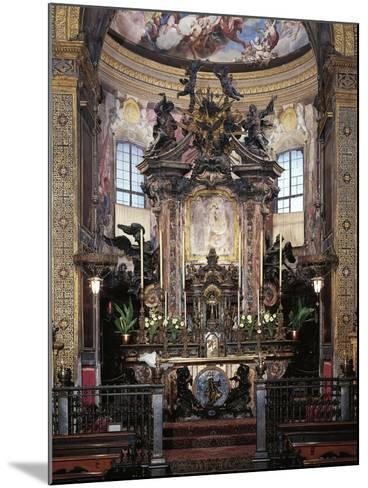 High Altar from Sanctuary of Incoronata, Lodi, Italy--Mounted Giclee Print