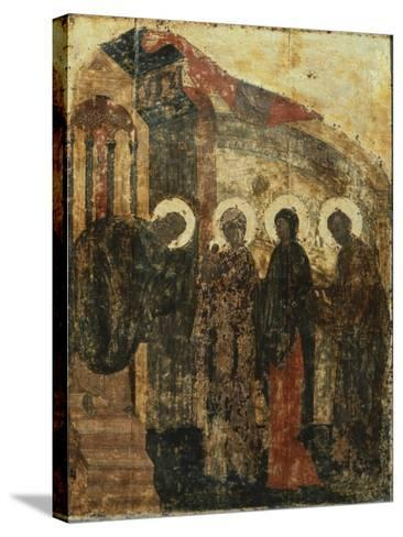 Presentation of Jesus at the Temple, 1405--Stretched Canvas Print