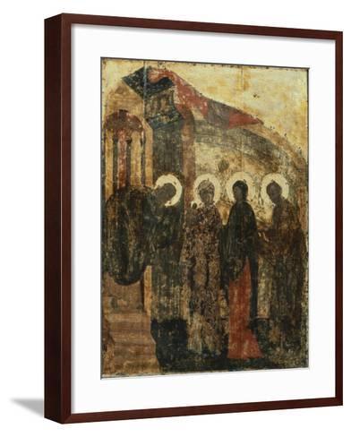 Presentation of Jesus at the Temple, 1405--Framed Art Print