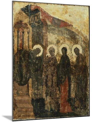 Presentation of Jesus at the Temple, 1405--Mounted Giclee Print