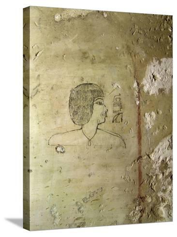 Egypt, Thebes, Luxor, Tomb of High Steward Architect Senenmuts, Senenmut--Stretched Canvas Print