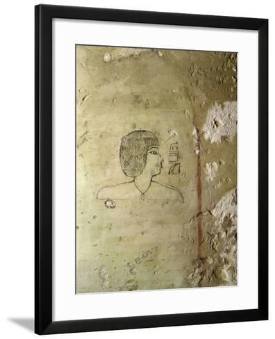 Egypt, Thebes, Luxor, Tomb of High Steward Architect Senenmuts, Senenmut--Framed Art Print