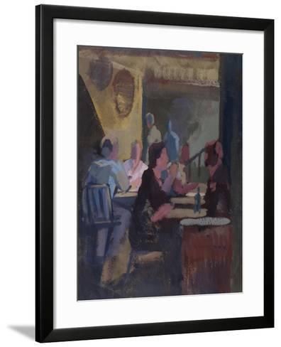 Cafe Society - Gordon's Wine Bar--Framed Art Print