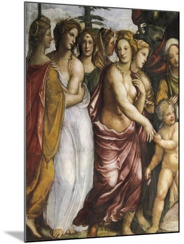 Dario's Mother Begging Alexander the Great--Mounted Giclee Print