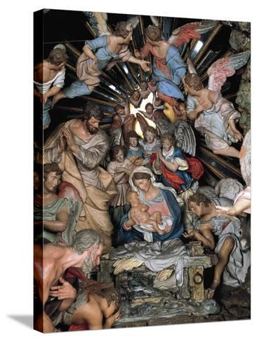 Nativity, Nativity Scene of Marquis of Belas, Work by Machado De Castro--Stretched Canvas Print