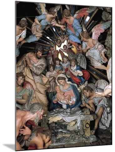 Nativity, Nativity Scene of Marquis of Belas, Work by Machado De Castro--Mounted Giclee Print