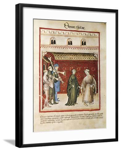 Italy, Singing and Playing, Miniature--Framed Art Print