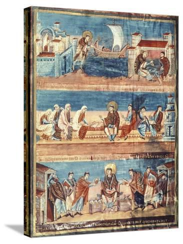 St Jerome Departing from Rome for Jerusalem--Stretched Canvas Print