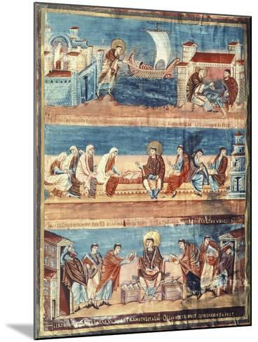 St Jerome Departing from Rome for Jerusalem--Mounted Giclee Print