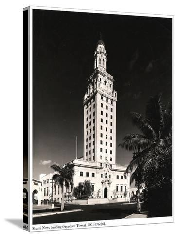 Freedom Tower, Miami--Stretched Canvas Print