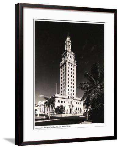 Freedom Tower, Miami--Framed Art Print