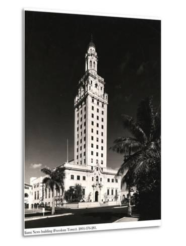 Freedom Tower, Miami--Metal Print