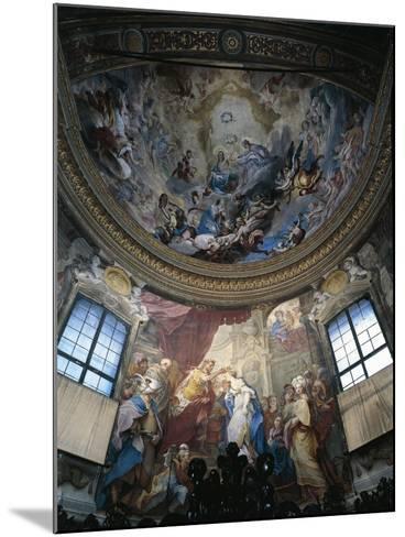 Frescoes--Mounted Giclee Print