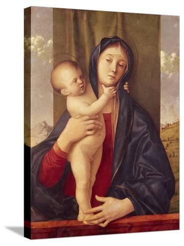 Madonna and Child--Stretched Canvas Print