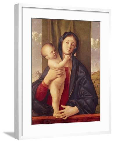 Madonna and Child--Framed Art Print