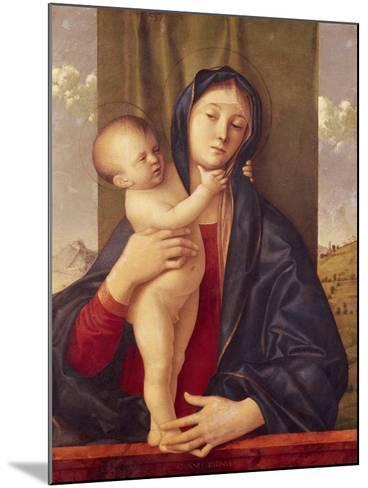 Madonna and Child--Mounted Giclee Print