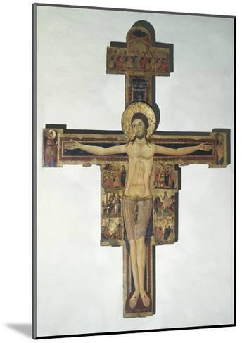 Crucifixion and Stories of Passion--Mounted Giclee Print