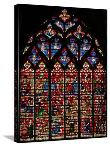 Window W236 Depicting Scenes from the Story of Daniel--Stretched Canvas Print