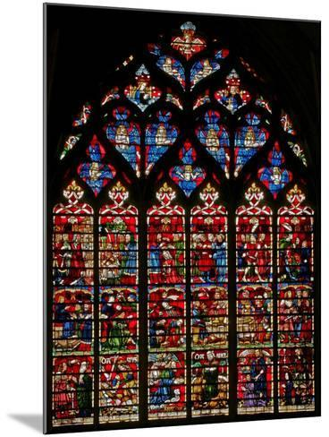 Window W236 Depicting Scenes from the Story of Daniel--Mounted Giclee Print