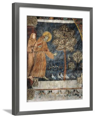 Preaching to the Birds--Framed Art Print