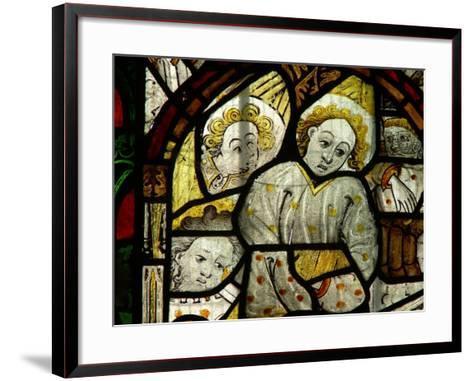 Depicting Angelic Remains--Framed Art Print