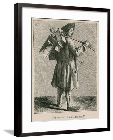 """""""Death to the Rats!""""--Framed Art Print"""