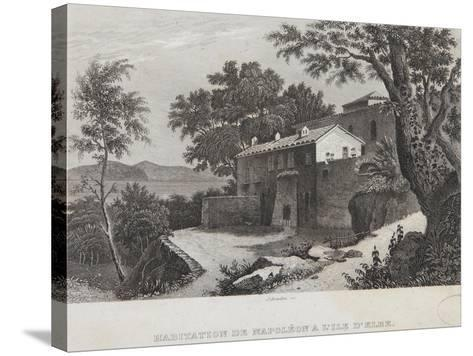The House of Napoleon on the Island of Elba--Stretched Canvas Print