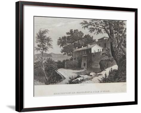 The House of Napoleon on the Island of Elba--Framed Art Print
