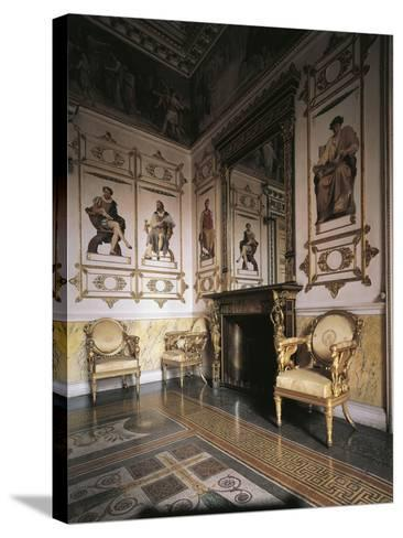 Hall of Apollo, 1835, Royal Castle of Racconigi--Stretched Canvas Print