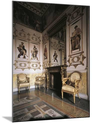 Hall of Apollo, 1835, Royal Castle of Racconigi--Mounted Photographic Print