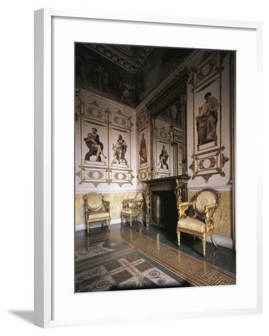 Hall of Apollo, 1835, Royal Castle of Racconigi--Framed Art Print