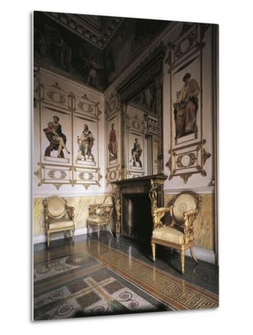 Hall of Apollo, 1835, Royal Castle of Racconigi--Metal Print