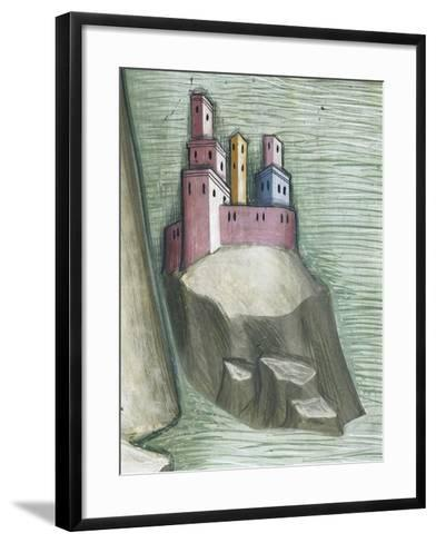 Killing of Job's Servants and Abduction of the Herds--Framed Art Print